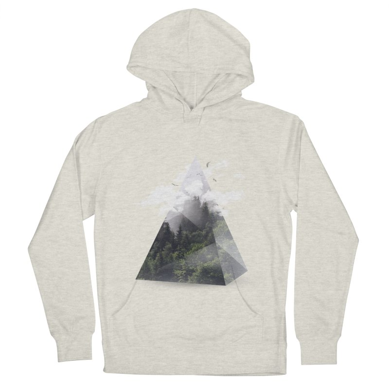 Triangle Men's Pullover Hoody by Astronaut's Artist Shop