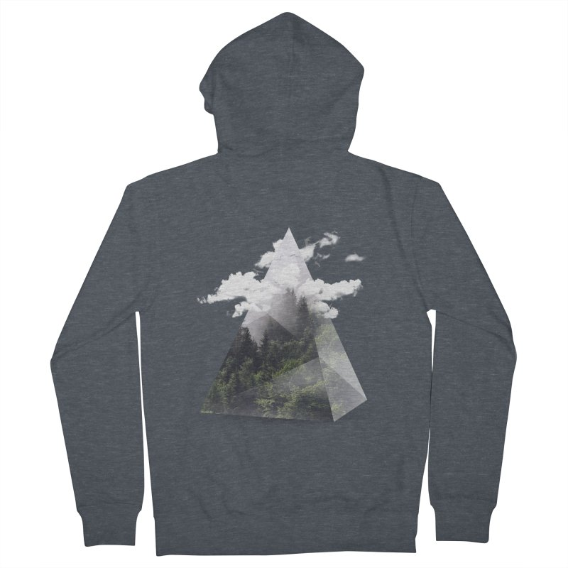 Triangle Women's Zip-Up Hoody by Astronaut's Artist Shop