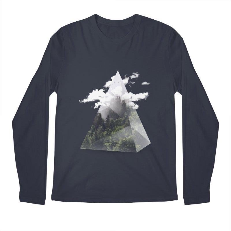 Triangle Men's Longsleeve T-Shirt by Astronaut's Artist Shop
