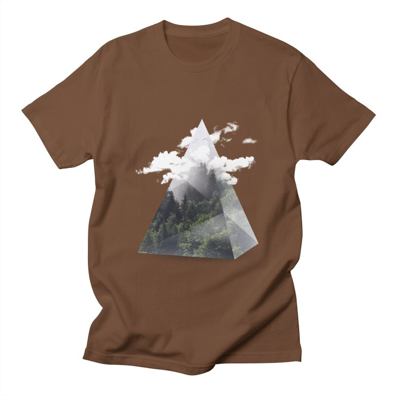 Triangle Men's T-shirt by Astronaut's Artist Shop