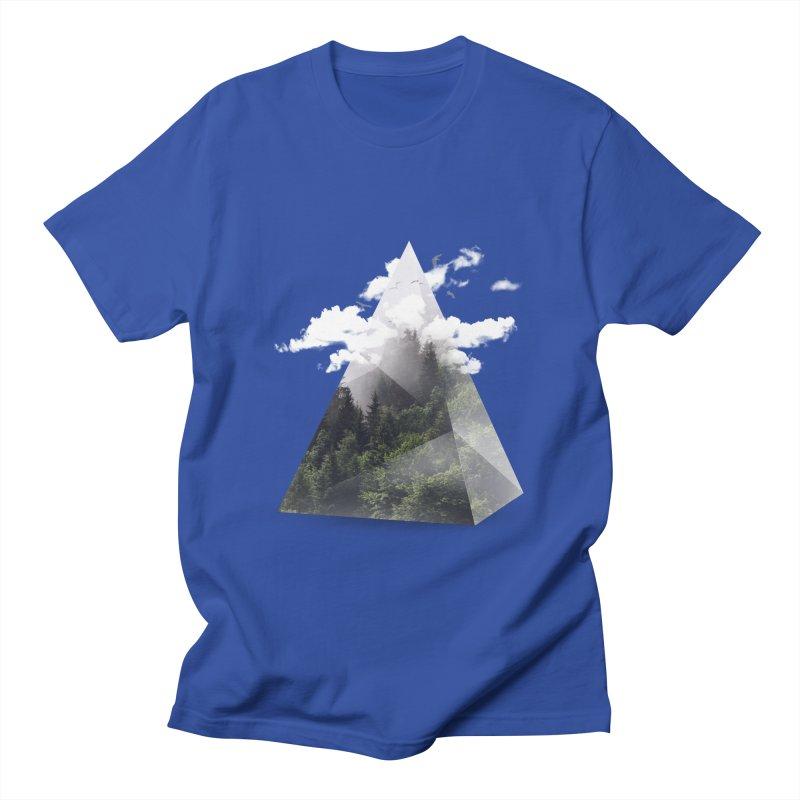 Triangle Men's T-shirt by Astronaut's Artist Shop