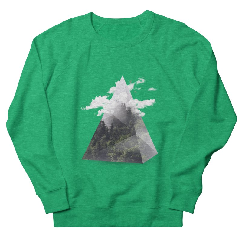 Triangle Women's Sweatshirt by Astronaut's Artist Shop