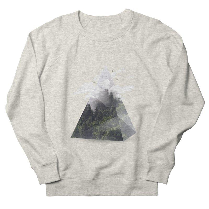 Triangle Men's Sweatshirt by Astronaut's Artist Shop