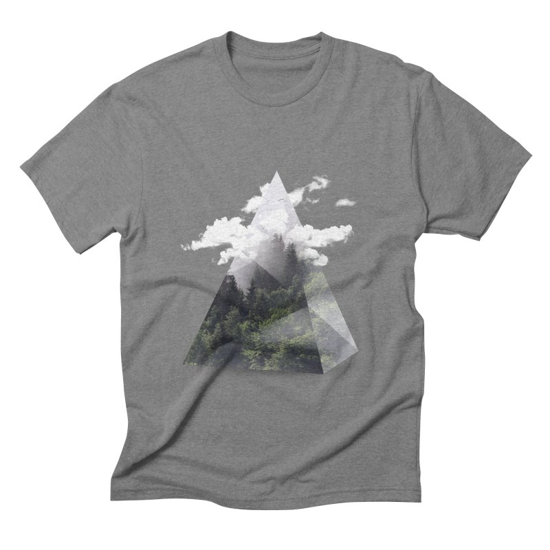 Triangle Men's Triblend T-Shirt by Astronaut's Artist Shop