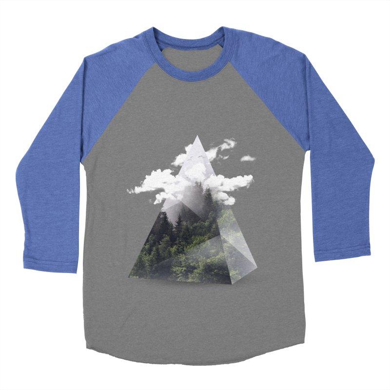 Triangle Men's Baseball Triblend T-Shirt by Astronaut's Artist Shop