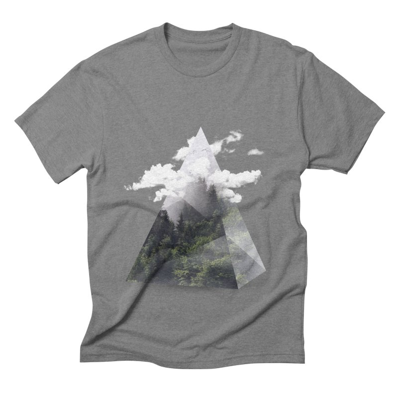 Triangle Men's Triblend T-shirt by Astronaut's Artist Shop