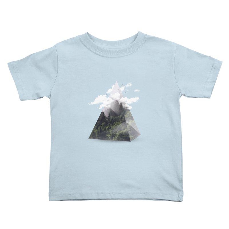 Triangle Kids Toddler T-Shirt by Astronaut's Artist Shop