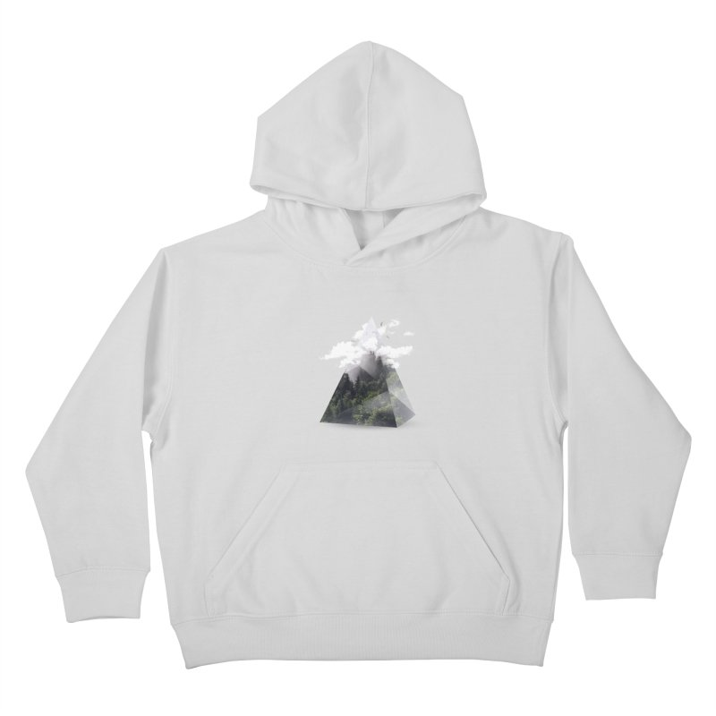 Triangle Kids Pullover Hoody by Astronaut's Artist Shop