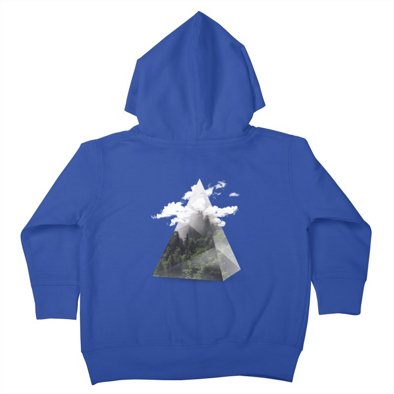 Triangle Kids Toddler Zip-Up Hoody by Astronaut's Artist Shop