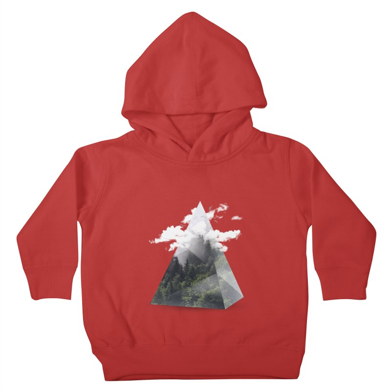 Triangle Kids Toddler Pullover Hoody by Astronaut's Artist Shop
