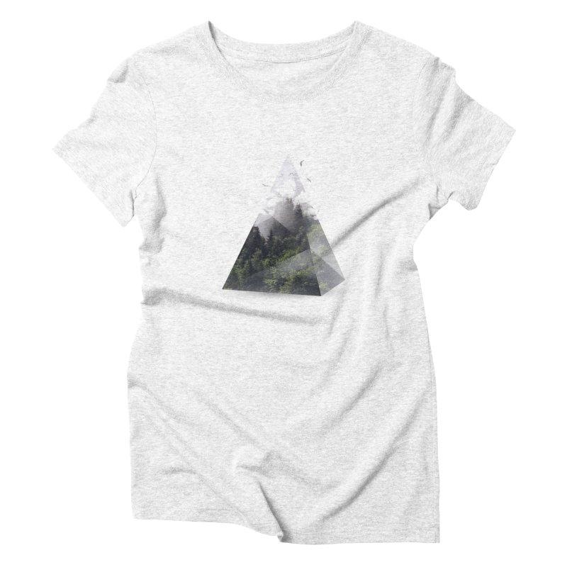 Triangle Women's Triblend T-shirt by Astronaut's Artist Shop