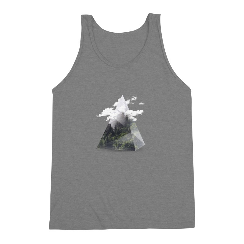 Triangle Men's Triblend Tank by Astronaut's Artist Shop