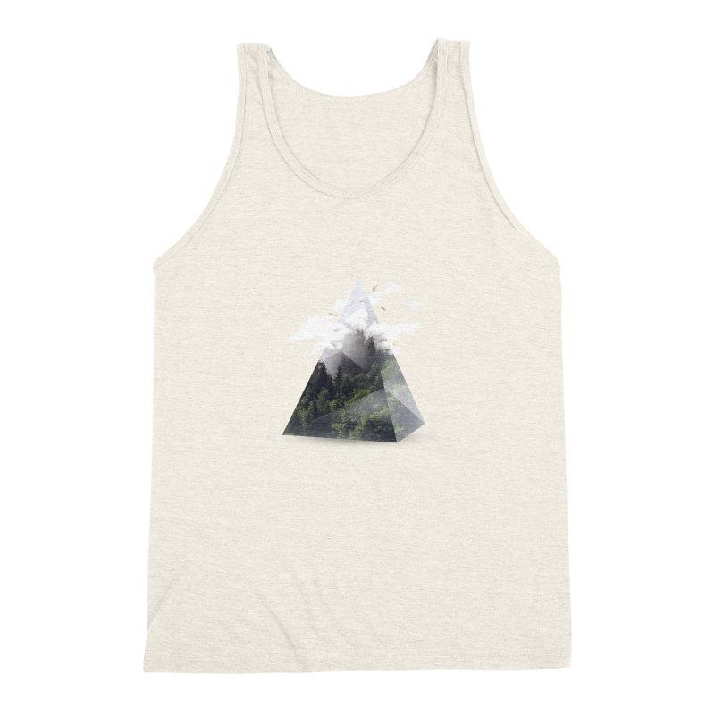 Triangle Men's Triblend Tank by Astronaut's Artist Shop
