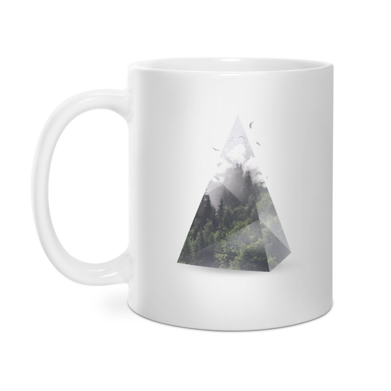 Triangle Accessories Mug by Astronaut's Artist Shop