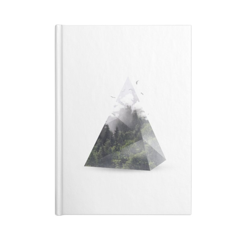 Triangle Accessories Notebook by Astronaut's Artist Shop