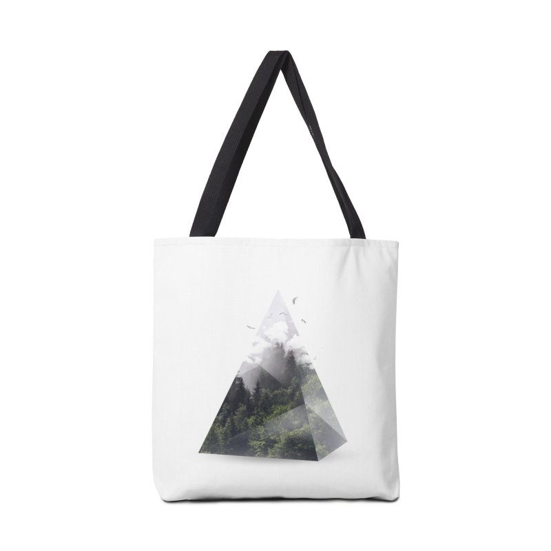 Triangle Accessories Bag by Astronaut's Artist Shop