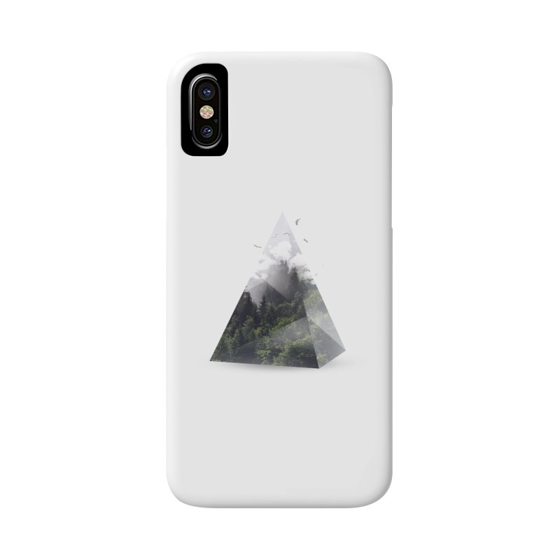 Triangle Accessories Phone Case by Astronaut's Artist Shop