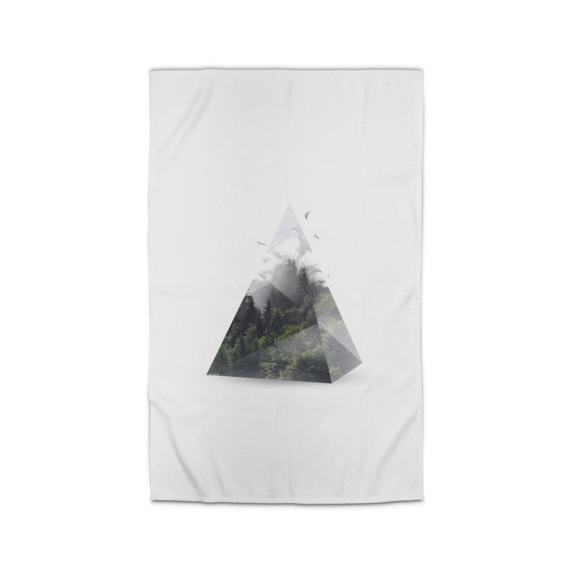 Triangle Home Rug by Astronaut's Artist Shop