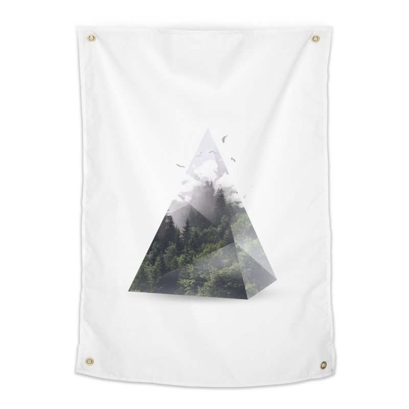 Triangle Home Tapestry by Astronaut's Artist Shop