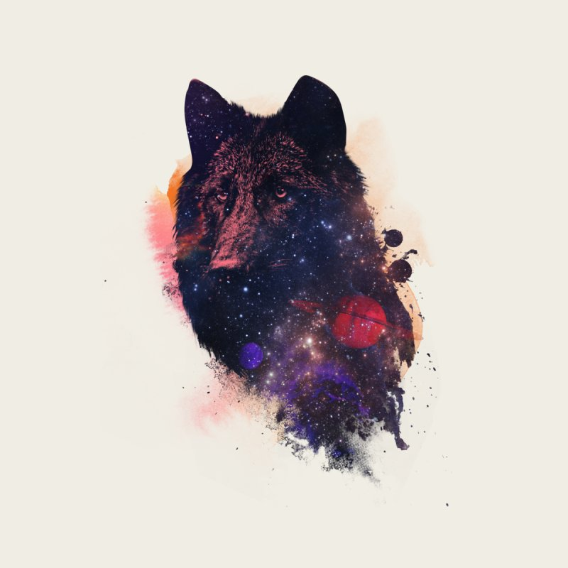 Universal wolf None  by Astronaut's Artist Shop