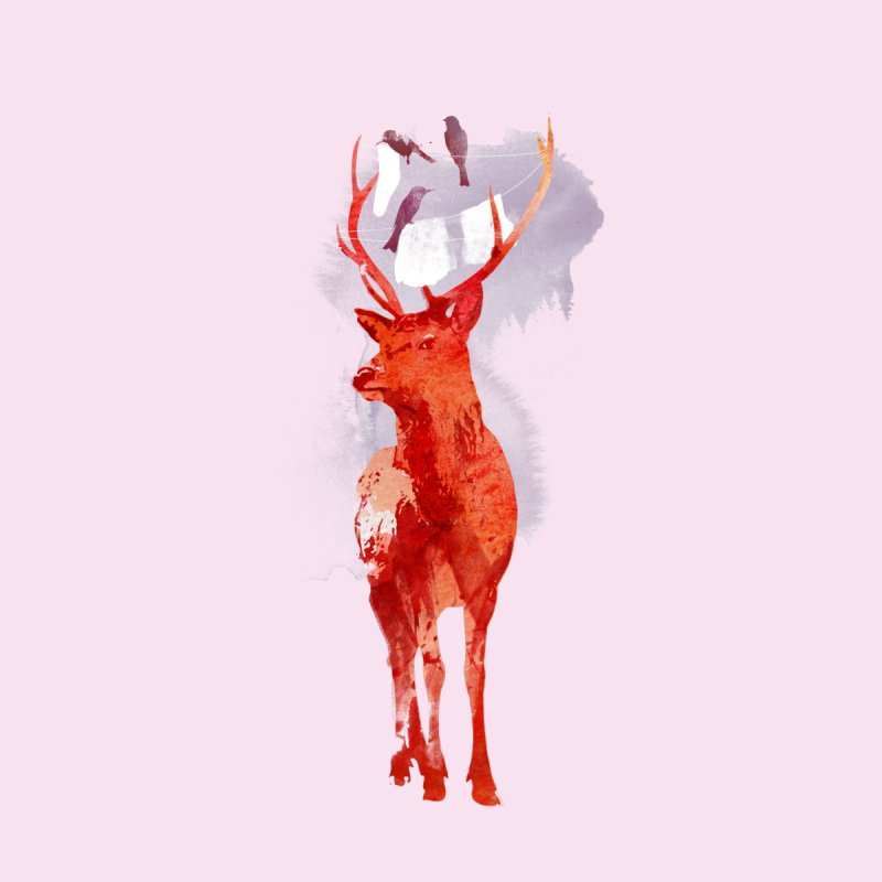 Useless deer None  by Astronaut's Artist Shop