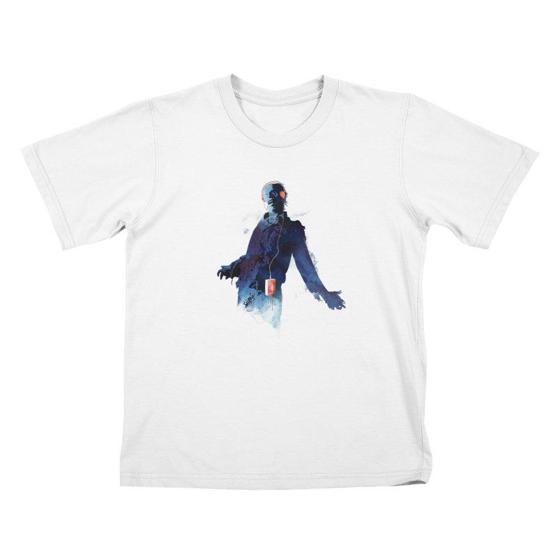 Walkman dead Kids T-Shirt by Astronaut's Artist Shop