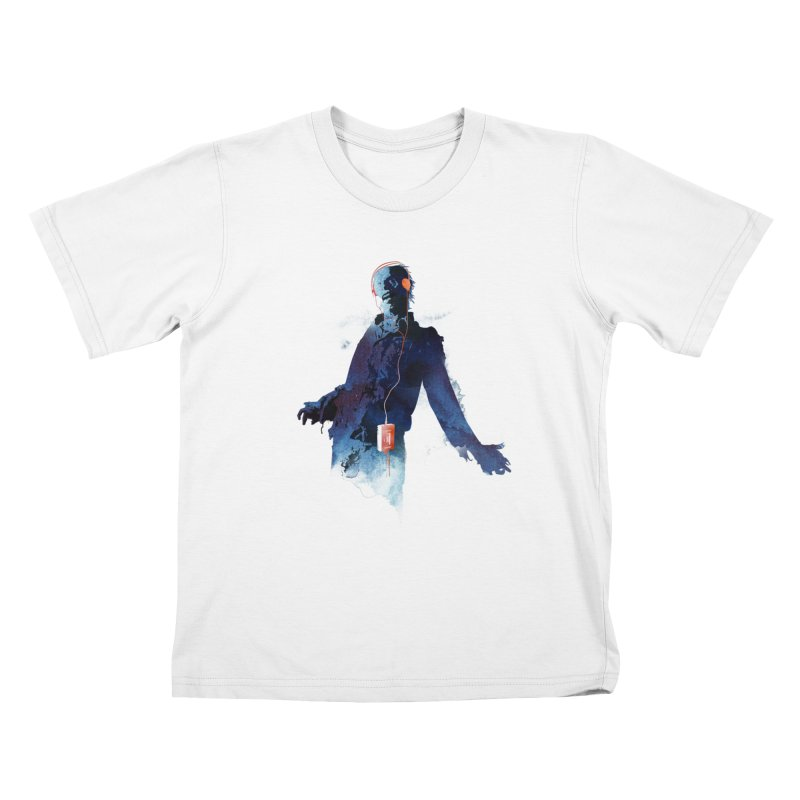 Walkman dead Kids T-shirt by Astronaut's Artist Shop