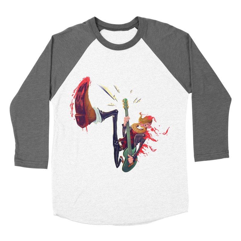 Rock Time! Men's Baseball Triblend T-Shirt by Astronauta Store