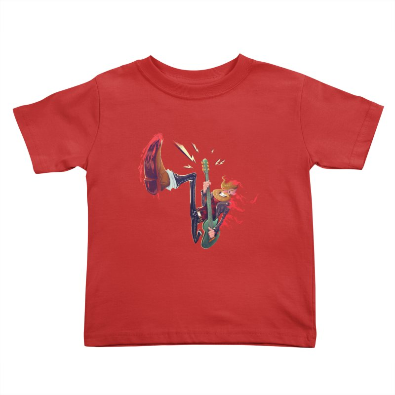 Rock Time! Kids Toddler T-Shirt by Astronauta Store