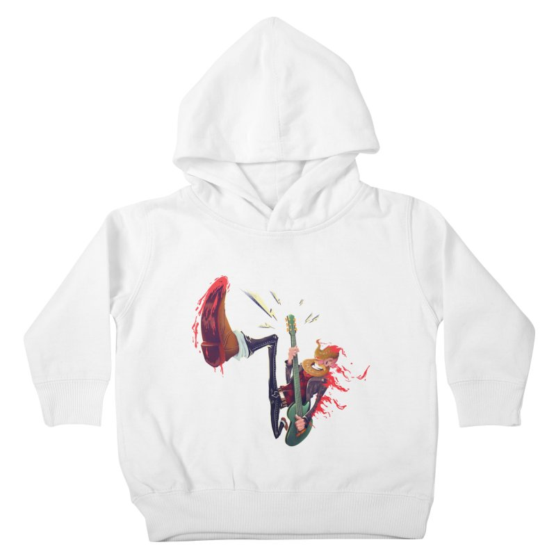 Rock Time! Kids Toddler Pullover Hoody by Astronauta Store