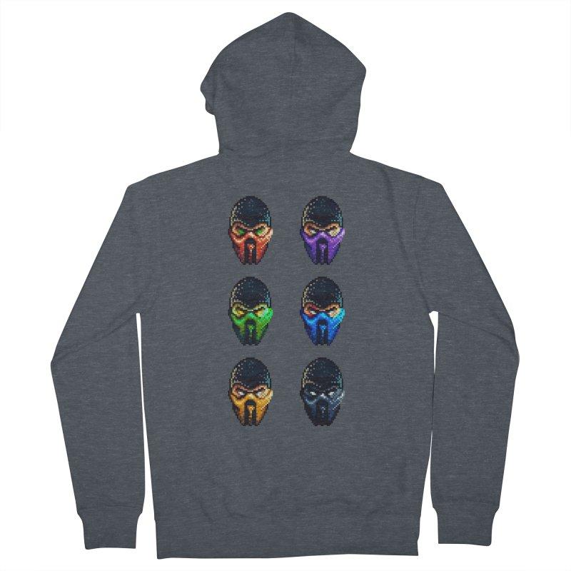 Ninjas Men's Zip-Up Hoody by Astronauta Store