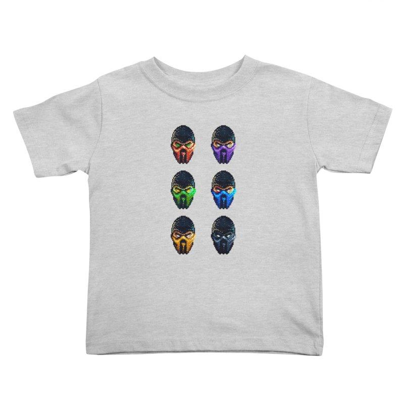 Ninjas Kids Toddler T-Shirt by Astronauta Store