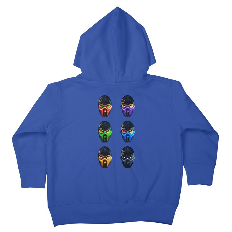 Ninjas Kids Toddler Zip-Up Hoody by Astronauta Store