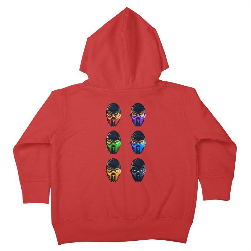 Ninjas Kids Toddler Zip-Up Hoody by Astronauta Store