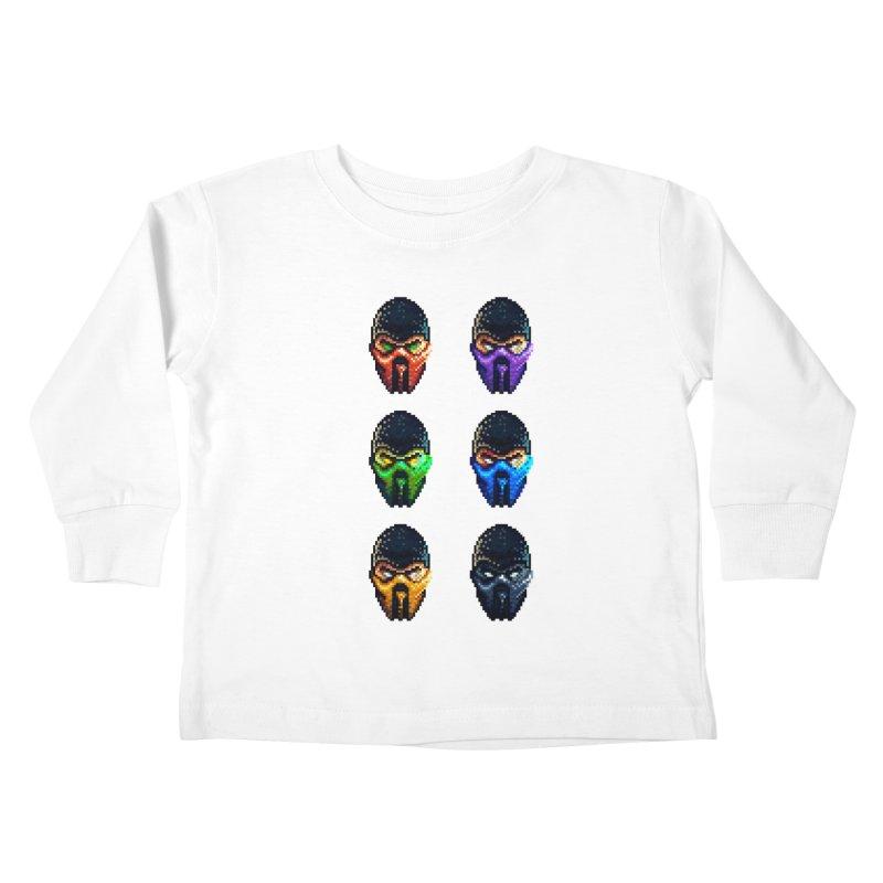 Ninjas Kids Toddler Longsleeve T-Shirt by Astronauta Store
