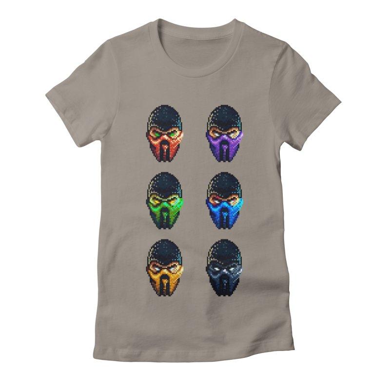 Ninjas Women's Fitted T-Shirt by Astronauta Store