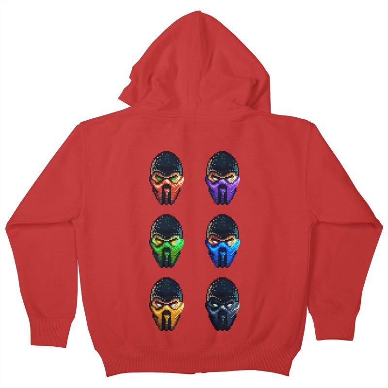Ninjas Kids Zip-Up Hoody by Astronauta Store