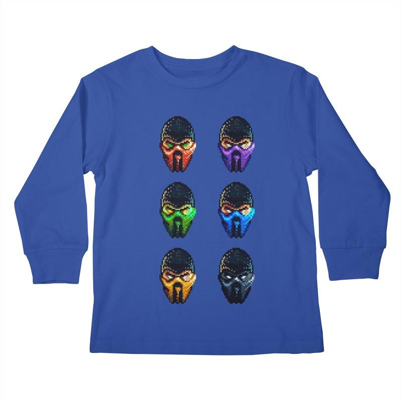 Ninjas Kids Longsleeve T-Shirt by Astronauta Store