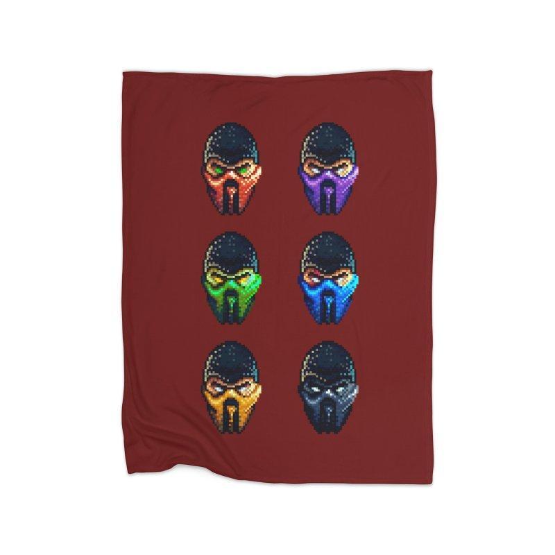 Ninjas Home Blanket by Astronauta Store