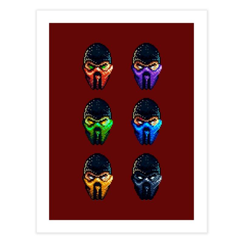 Ninjas Home Fine Art Print by Astronauta Store