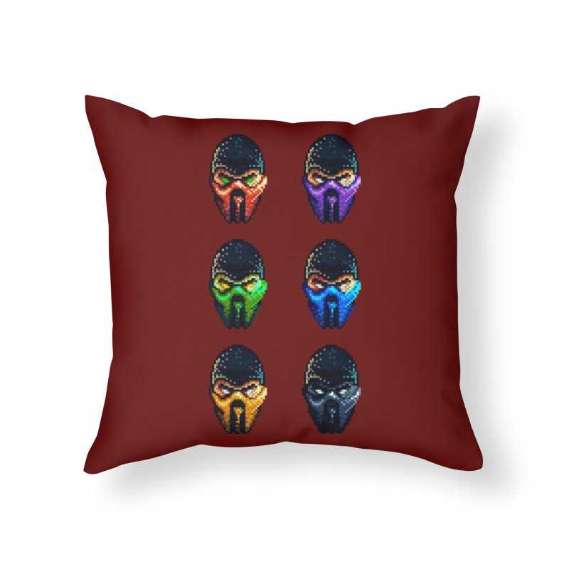 Ninjas Home Throw Pillow by Astronauta Store