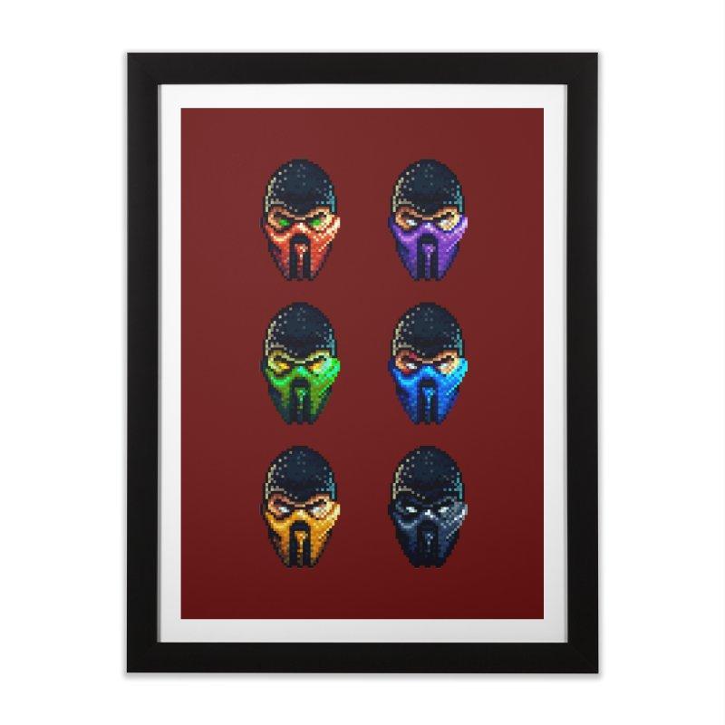 Ninjas Home Framed Fine Art Print by Astronauta Store