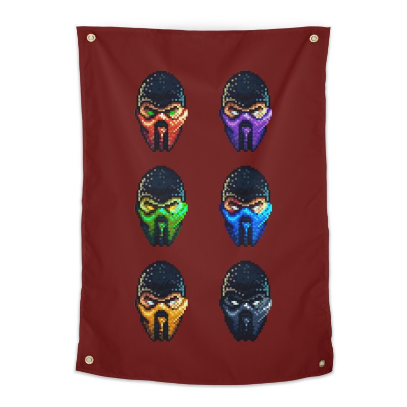 Ninjas Home Tapestry by Astronauta Store