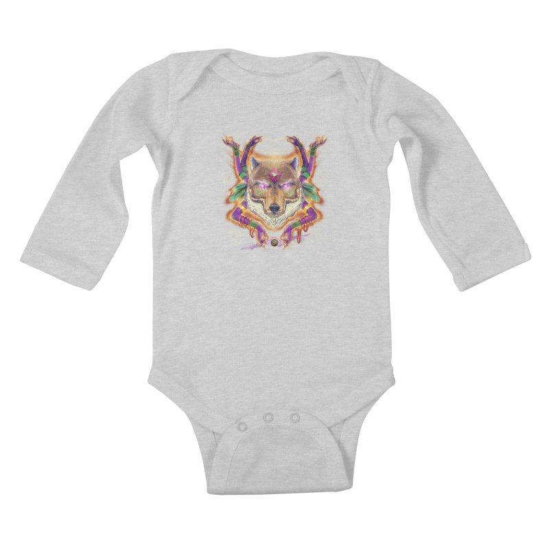 Mystic Spirit Kids Baby Longsleeve Bodysuit by Astronauta Store