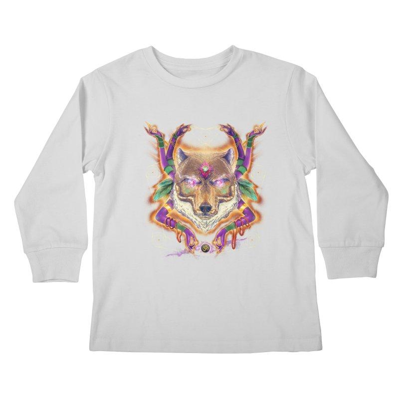 Mystic Spirit Kids Longsleeve T-Shirt by Astronauta Store