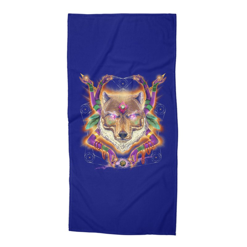 Mystic Spirit Accessories Beach Towel by Astronauta Store