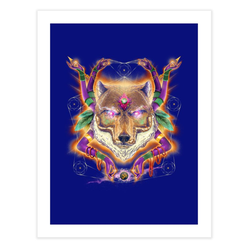 Mystic Spirit Home Fine Art Print by Astronauta Store