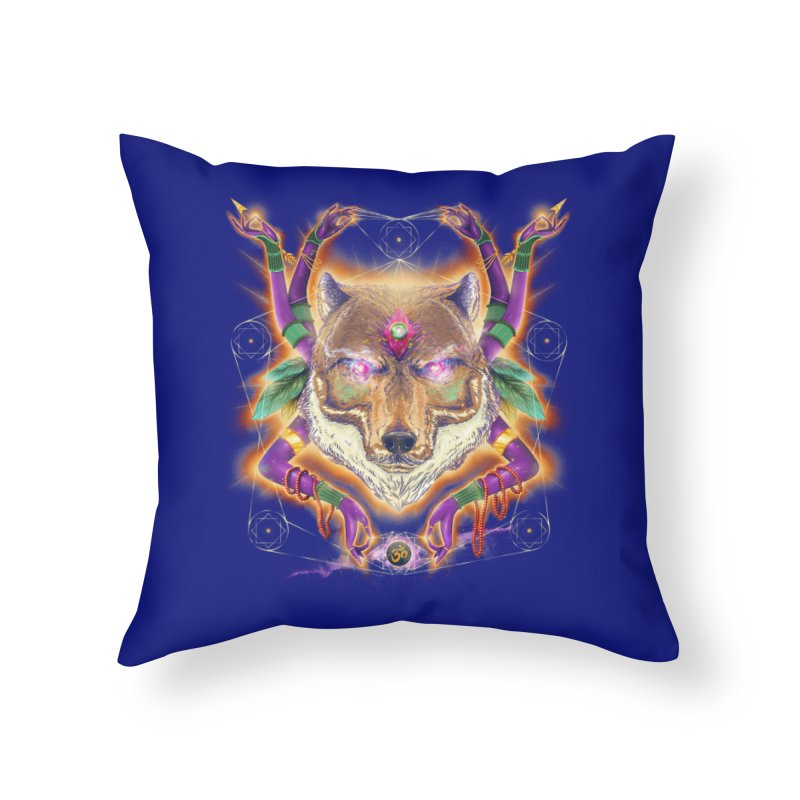 Mystic Spirit Home Throw Pillow by Astronauta Store