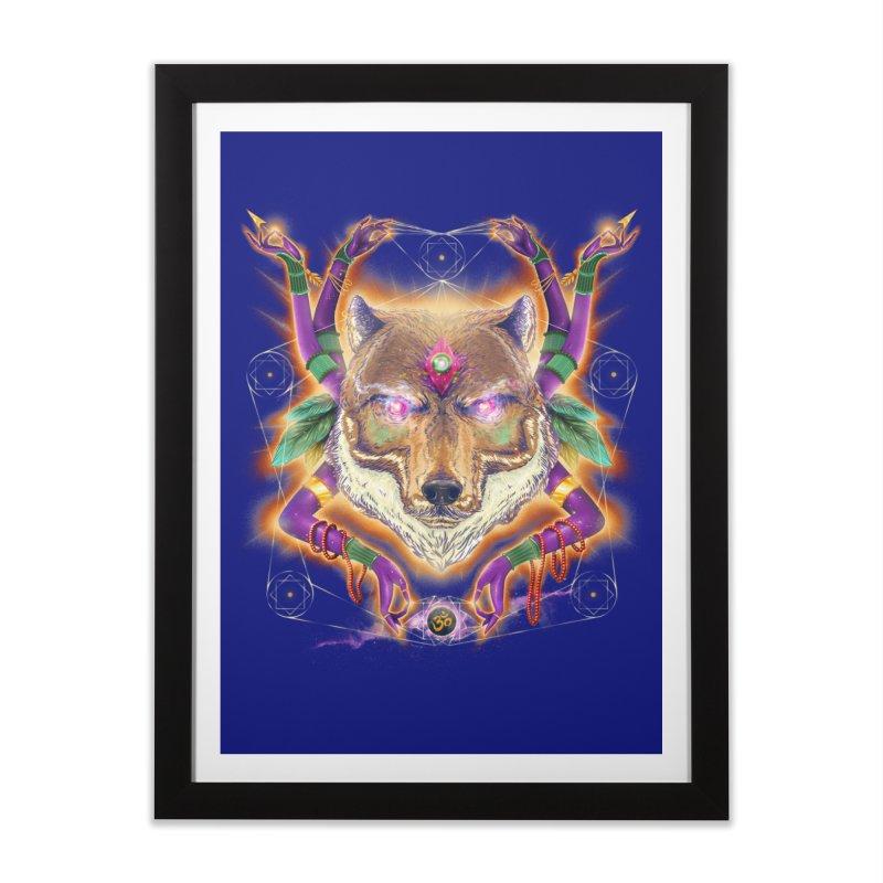 Mystic Spirit Home Framed Fine Art Print by Astronauta Store