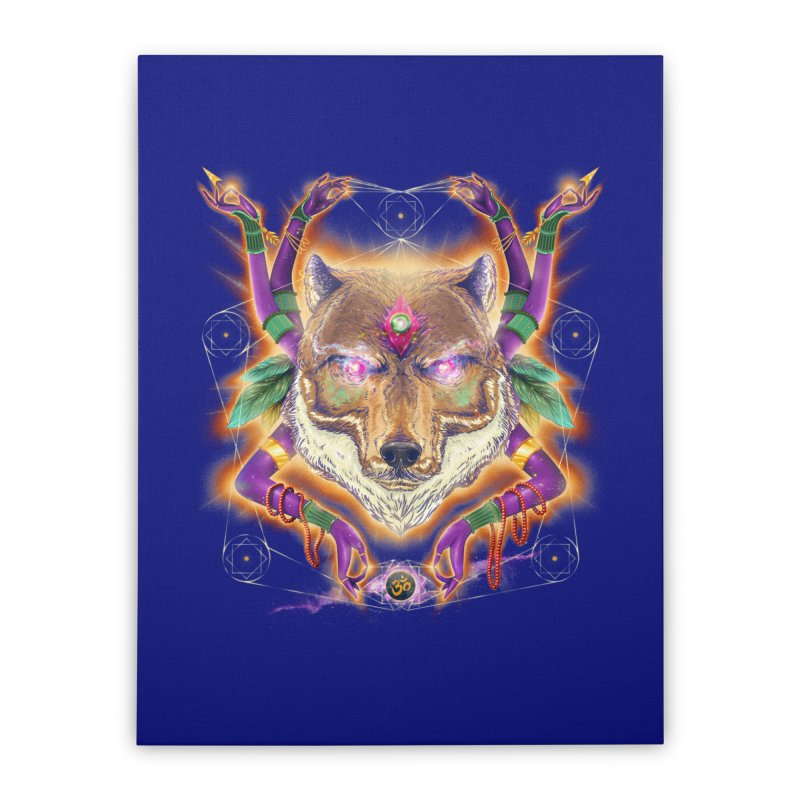 Mystic Spirit Home Stretched Canvas by Astronauta Store